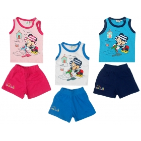 Mickey Mouse baby vest / shorts set