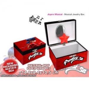 Miraculous Ladybug music jewellery box