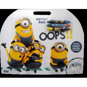 Minions artist pad