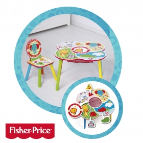 Fisher Price chair + table