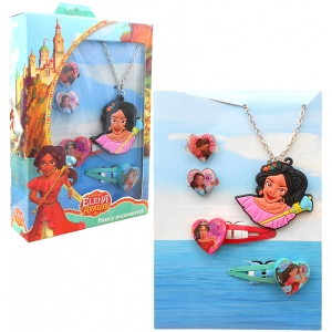 Elena of Avalor jewelry and hair accesories set