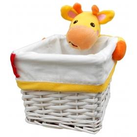 Fisher Price wicker basket – giraffe