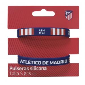 Atlético de Madrid silicone bracelets 2 pack