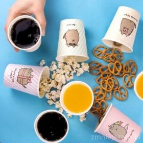 Pusheen paper cups 8 pack