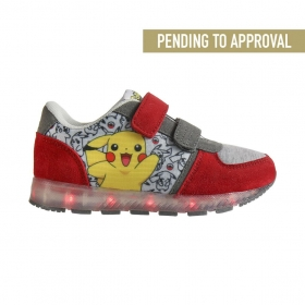 Pokemon sports shoes with LED lights
