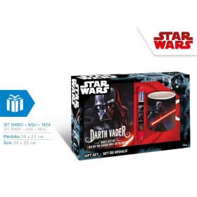 Star Wars diary, pen and mug set