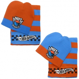 Hot Wheels autumn / winter hat and scarf set