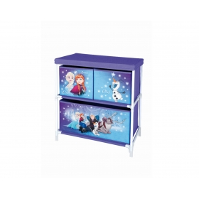 Frozen cabinet rack 3 drawers