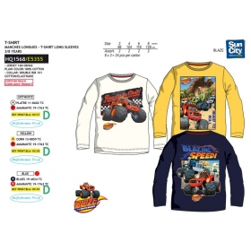Blaze and The Monster Machines long sleeve t-shirt