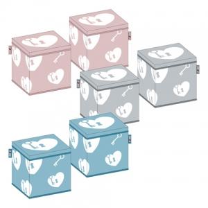 Zaska storage bin - hearts