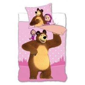 Masha and the Bear bedset 140x200 cm
