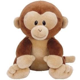 Baby Ty Banana - monkey plush toy 24 cm