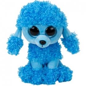 Beanie Boos Mandy - blue poodle plush toy 24 cm