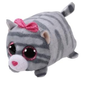 Teeny Tys Cassie - grey cat plush toy 10 cm