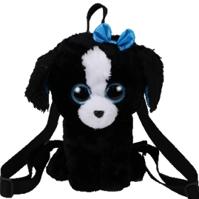 Ty Gear backpack Tracey - black/white dog