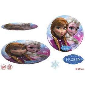 Frozen Melamine Plate W/O Rim