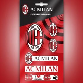 AC MIlan pvc sticker logos