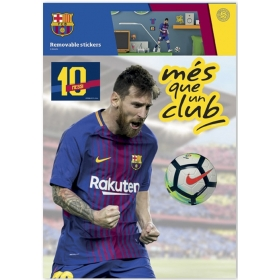 FC Barcelona – Messi wall sticker 2 sheets