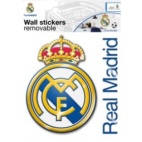 Real Madrid wall sticker maxi logo 1 sheet