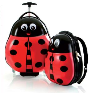 Travel Tots Panda - Kids Luggage & Backpack Set