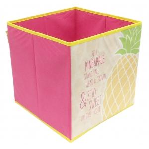 Zaska storage box - pineapple