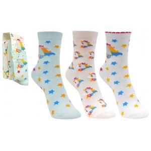 Unicorns girls socks 3 pack