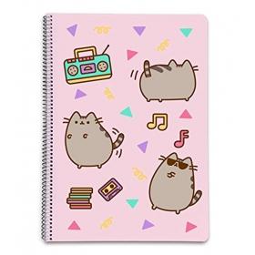 Pusheen spiral notebook