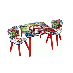 Avengers wooden table and chairs set