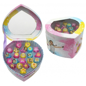 Soy Luna rings set 22 pcs