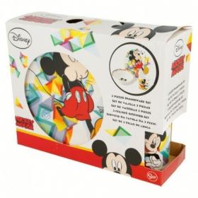 Mickey Mouse ceramic breakfast set 3 pcs