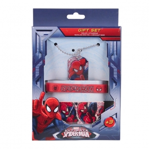 Spiderman jewellery set