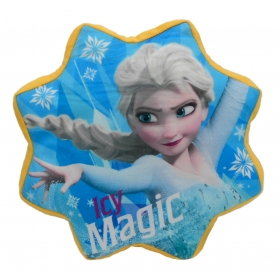 Frozen velour cushion