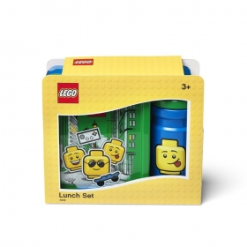 Lego lunch box + bottle