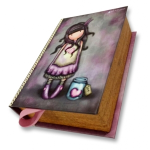 Santoro London Book Style Jewel Box-Jar Of Hearts