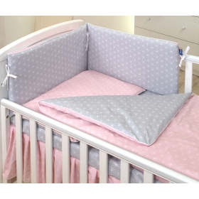 Baby bedding set 5 elements Geometric