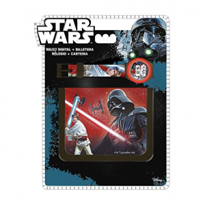 Star Wars wristwatch and wallet
