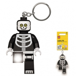Lego keychain with LED torch – Skeleton