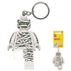Lego keychain with LED torch – Mummy