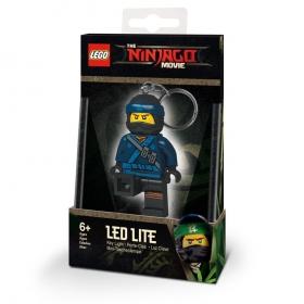 Lego Ninjago keychain with LED torch – Jay