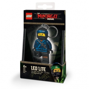 Lego Ninjago keychain with LED torch – Jay