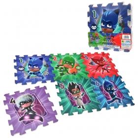 PJ Masks foam puzzle - 6 pcs