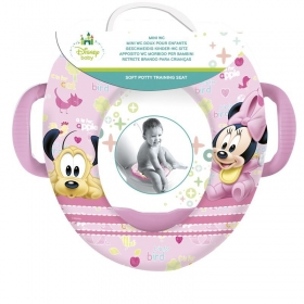 Minnie Mouse offset mini wc with handles toddler paint pot