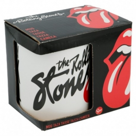 Stor Ceramic Offset Mug 11 Oz In Gift Box Rolling Stones Only R&R