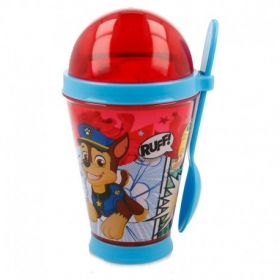 Vaso Yogur 355 Ml. Paw Patrol Comic