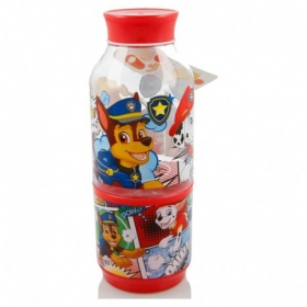 Tritan Snack Bottle 300 Ml Paw Patrol Comic