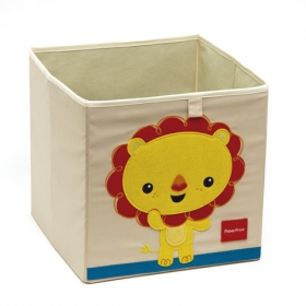 Fisher Price storage cube – lion