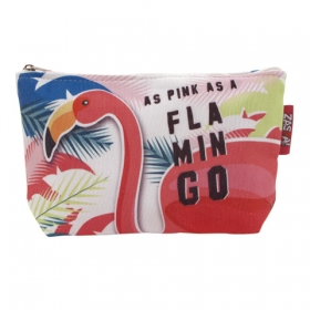 Zaska Flamingo vanity case