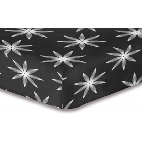 DecoKing Hypnosis Alpin microfibre fitted sheet 220x240 cm