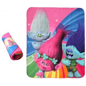 Trolls fleece blanket