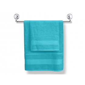 Bamboo towels Moreno 2 pcs. Turquoise color